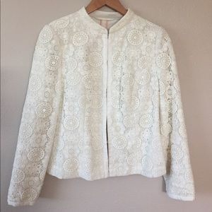 Boden elegant cream jacket